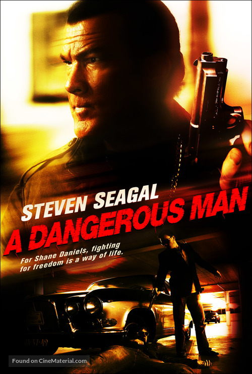 A Dangerous Man - DVD movie cover