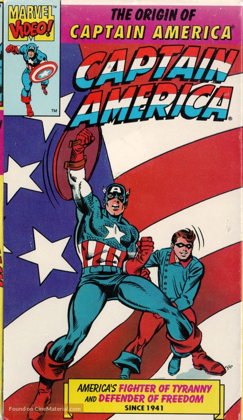 """Captain America"" - VHS movie cover"
