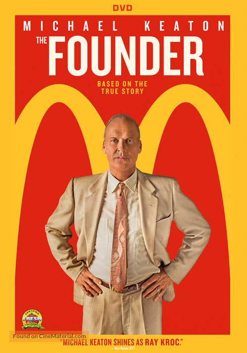 The Founder - DVD movie cover