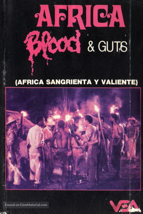 Africa addio - Argentinian Movie Cover