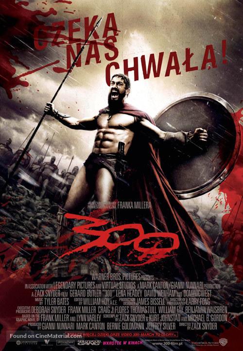 300 - Polish Movie Poster