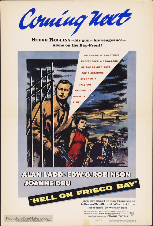 Hell on Frisco Bay - Movie Poster