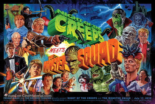 Night of the Creeps - Combo movie poster