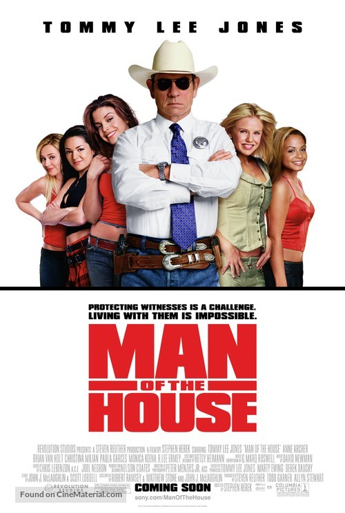 Man Of The House - Movie Poster
