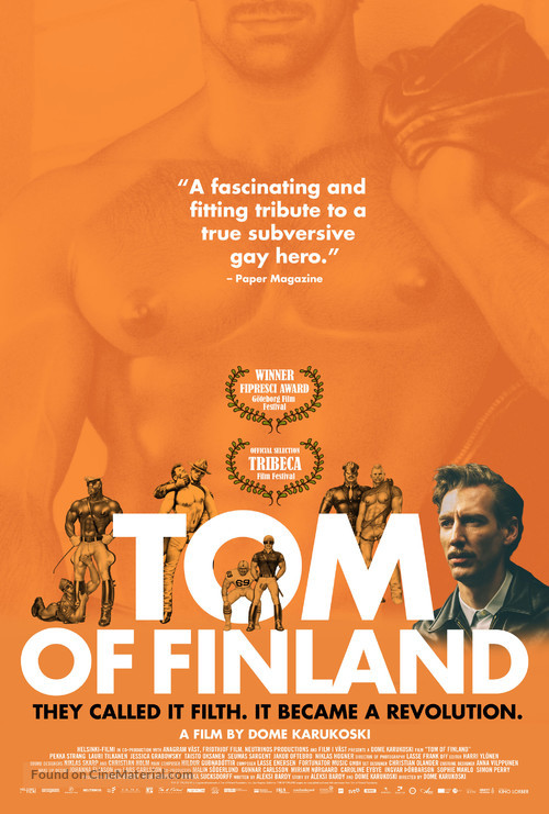 Tom of Finland - Movie Poster