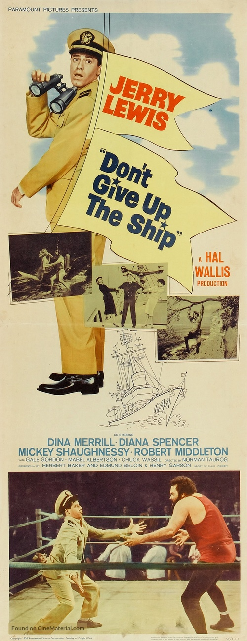 Don't Give Up the Ship - Movie Poster