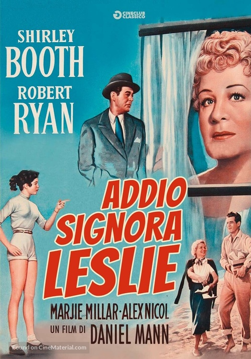 About Mrs. Leslie - Italian DVD movie cover