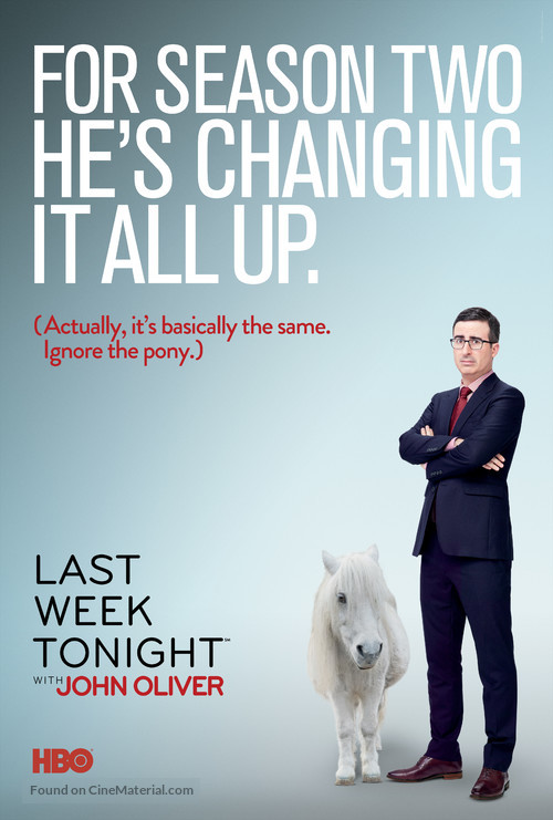 """Last Week Tonight with John Oliver"" - Movie Poster"