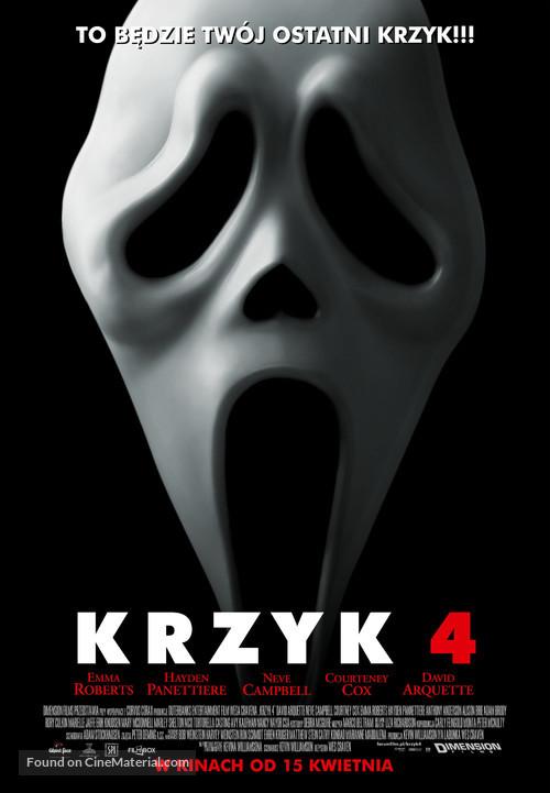 Scream 4 - Polish Movie Poster