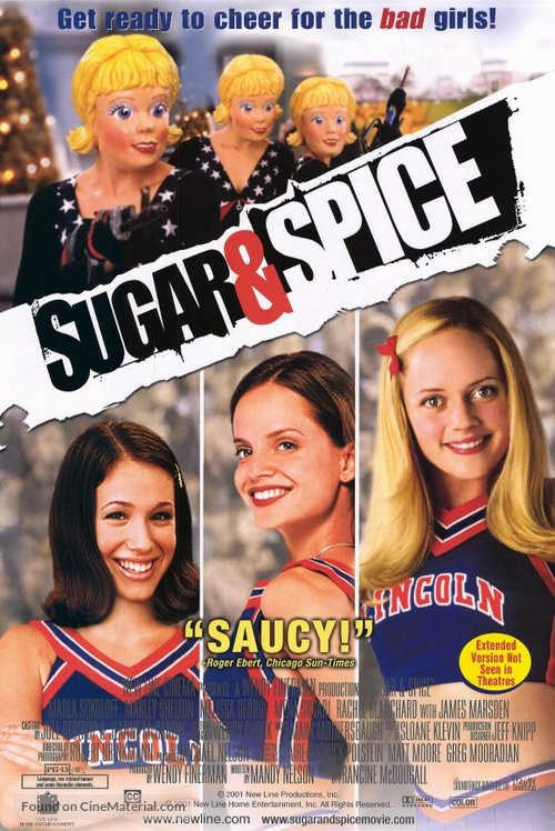 Sugar & Spice - Video release poster