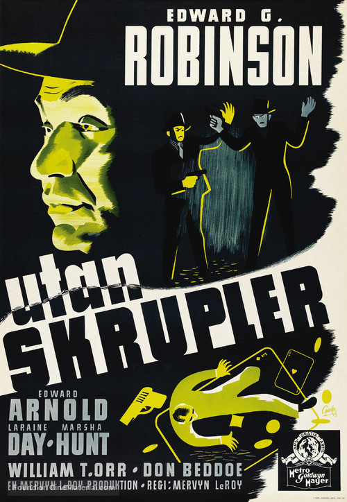 Unholy Partners - Swedish Movie Poster