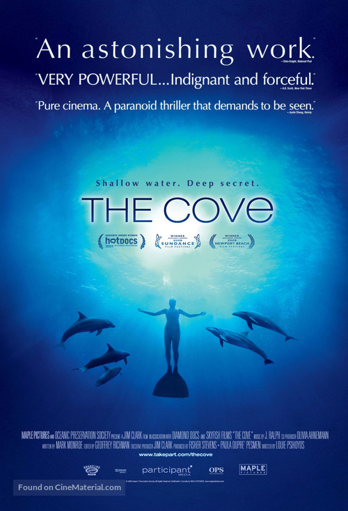 The Cove - Movie Poster