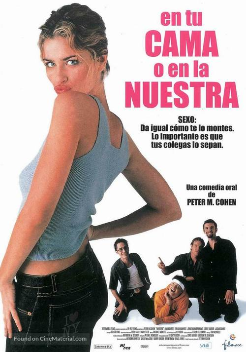 Whipped - Spanish Movie Poster