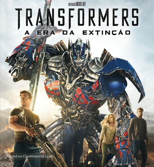 Transformers 4 movie cover