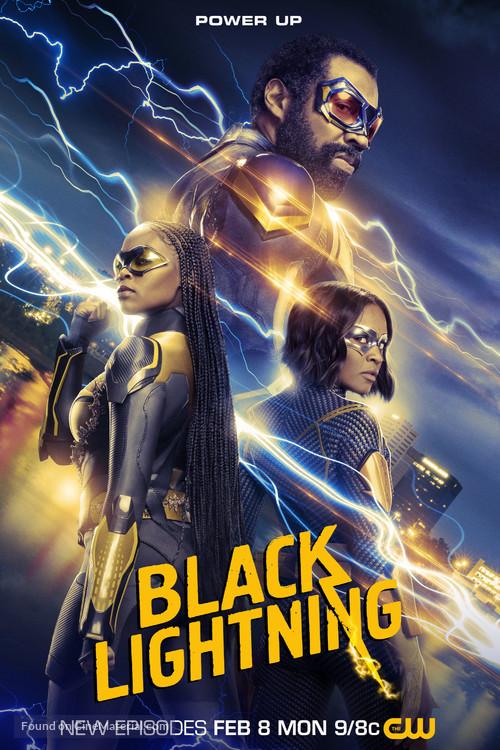 """Black Lightning"" - Movie Poster"