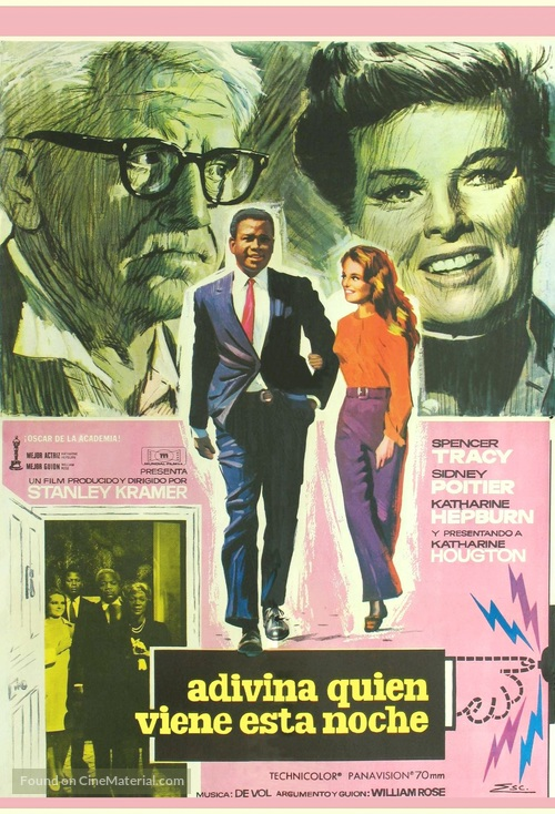 Guess Who's Coming to Dinner - Spanish Movie Poster