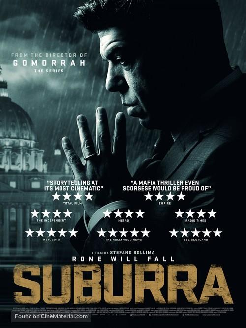 Suburra - British Movie Poster