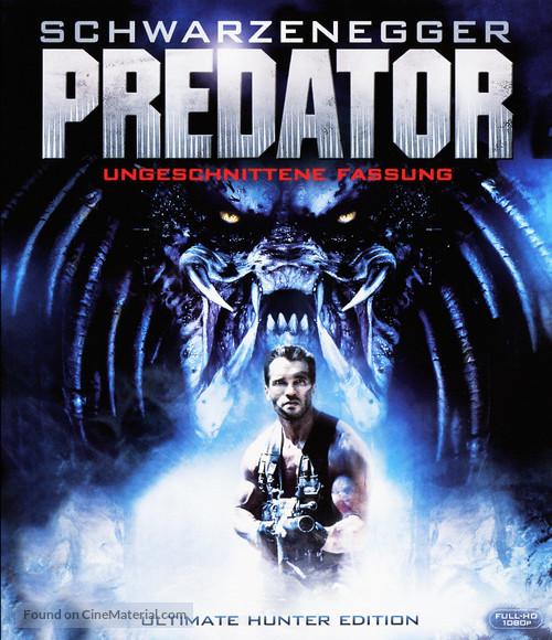 Predator - Blu-Ray movie cover