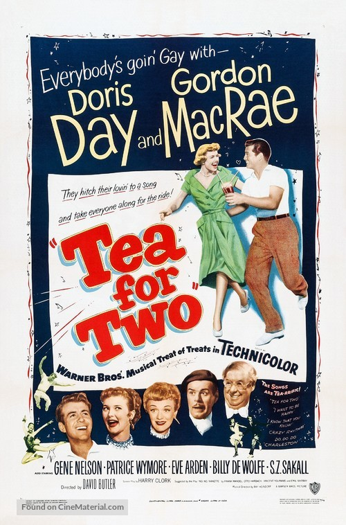 Tea for Two - Movie Poster