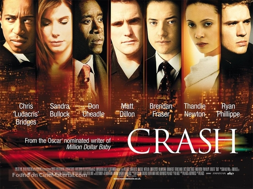 Crash - British Movie Poster