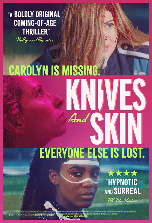 Knives and Skin - Movie Poster