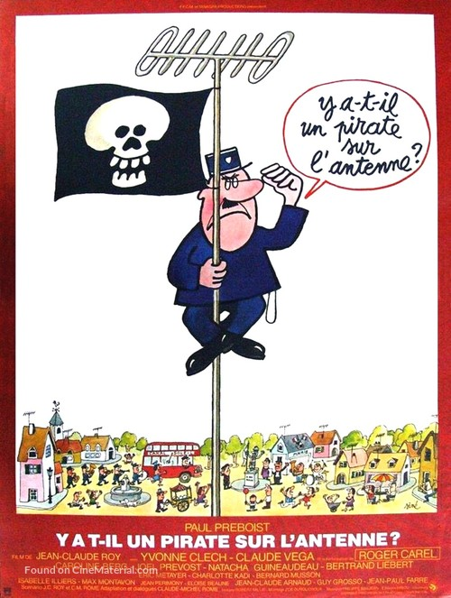 Y a-t-il un pirate sur l'antenne? - French Movie Poster
