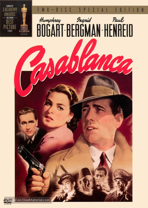 Casablanca - DVD movie cover