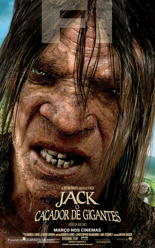 Jack the Giant Slayer - Brazilian Movie Poster