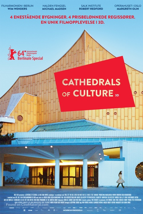 """""""Cathedrals of Culture"""" - Norwegian Movie Poster"""