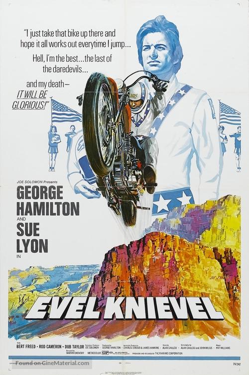 Evel Knievel - Movie Poster