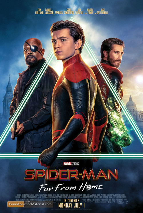 Spider-Man: Far From Home - Australian Movie Poster