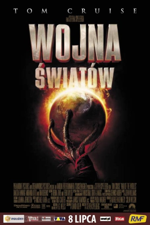 War of the Worlds - Polish Movie Poster