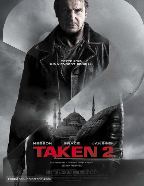 Taken 2 French movie poster