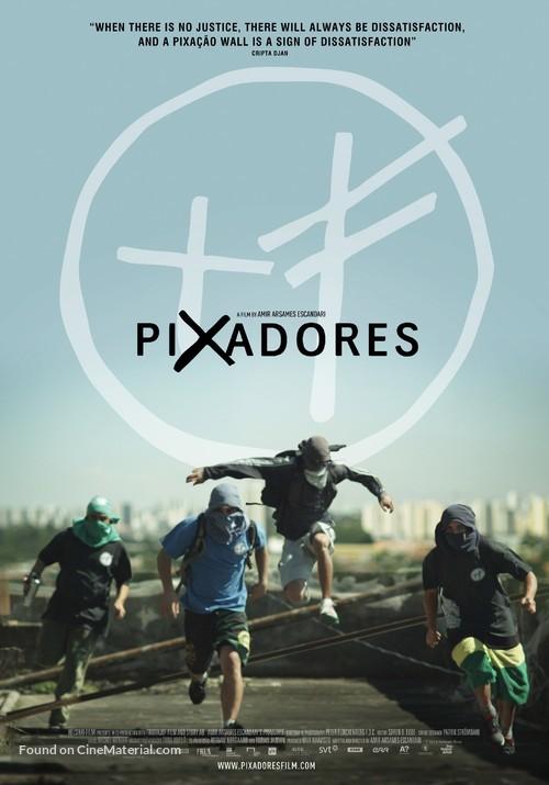 Pixadores - Finnish Movie Poster