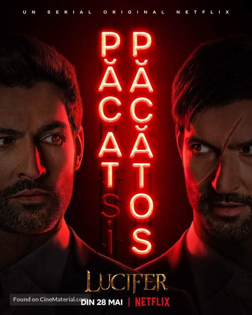 """""""Lucifer"""" - Romanian Movie Poster"""