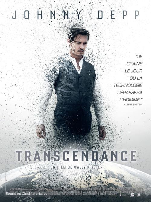 Transcendence - French Movie Poster