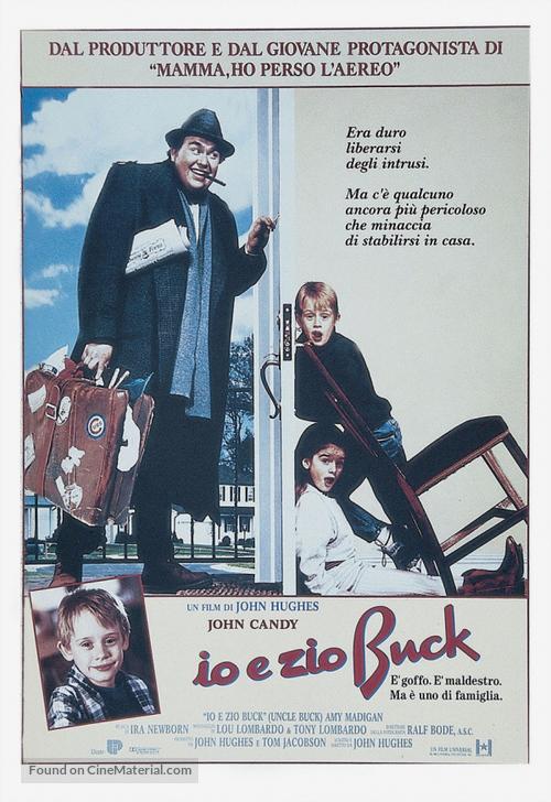 Uncle Buck - Italian Movie Poster