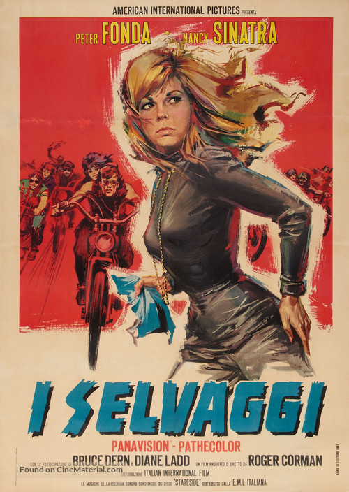 The Wild Angels - Italian Movie Poster