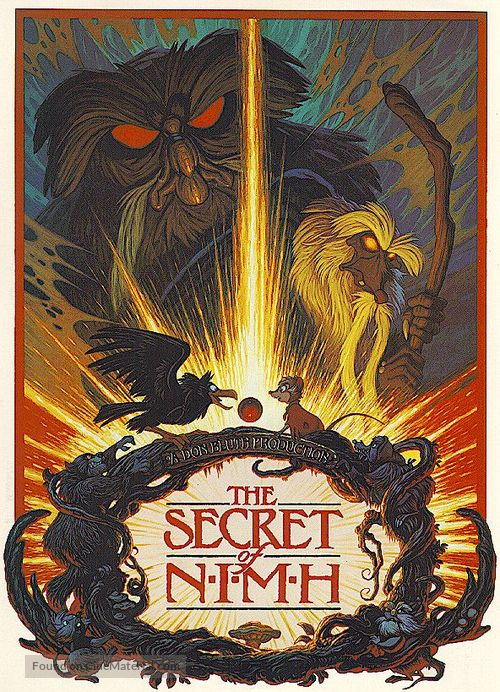 The Secret of NIMH - Movie Poster
