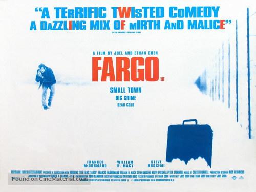Fargo - British Movie Poster