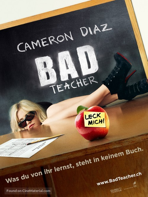Bad Teacher - Swiss Movie Poster