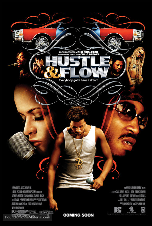 Hustle And Flow - Movie Poster