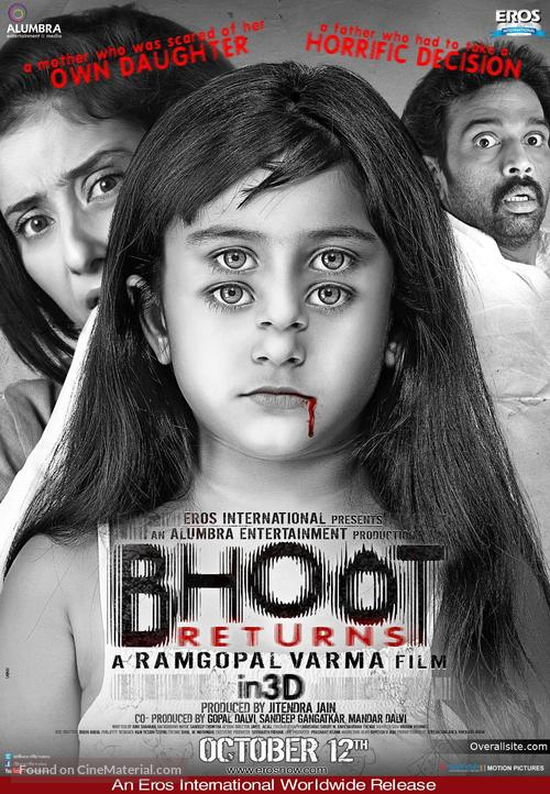 Bhoot Returns - Indian Movie Poster