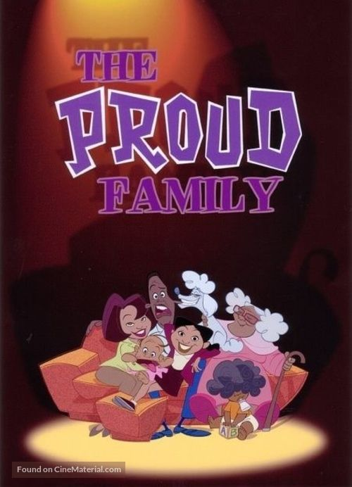 """""""The Proud Family"""" - Movie Cover"""