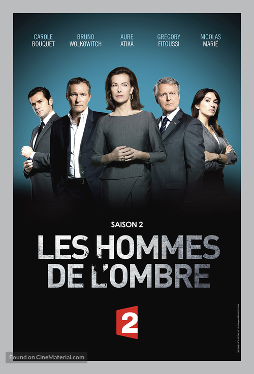 """""""Les hommes de l'ombre"""" - French Movie Poster"""