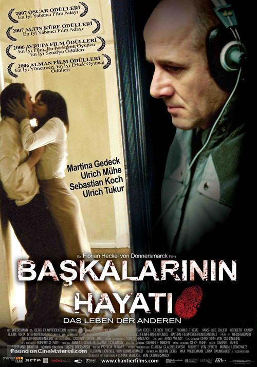 Das Leben der Anderen - Turkish Movie Poster