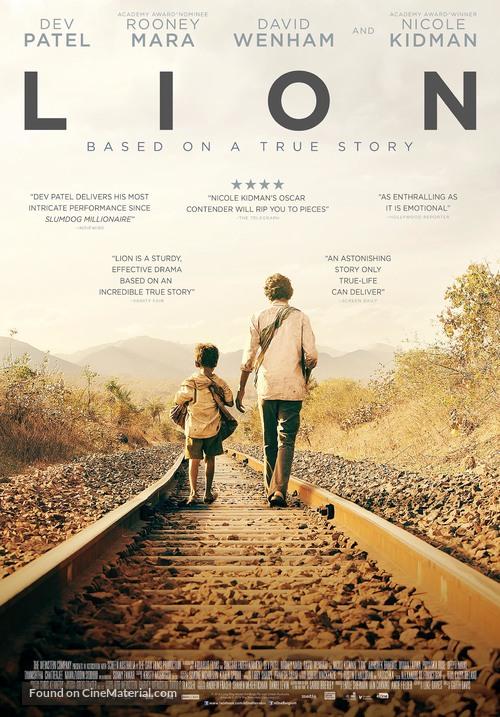 Lion movie poster 2016