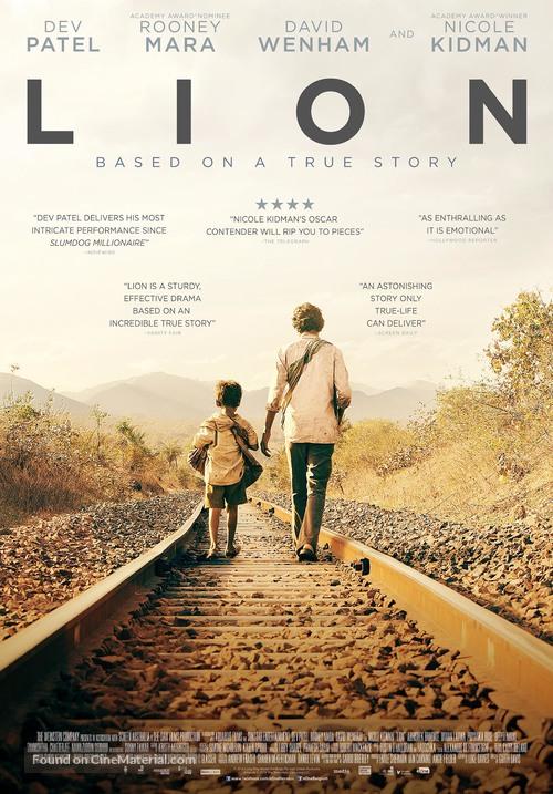 Lion - Dutch Movie Poster