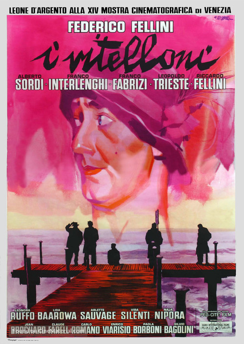 I vitelloni - Italian Movie Poster