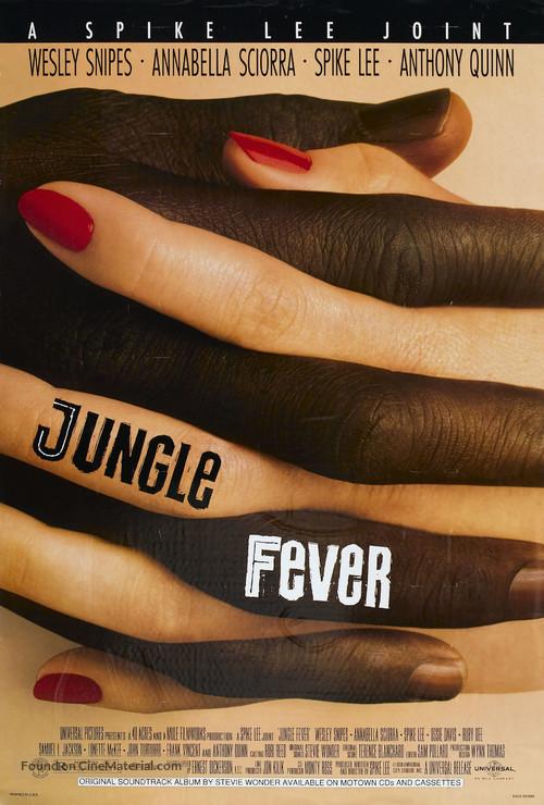Jungle Fever - Movie Poster